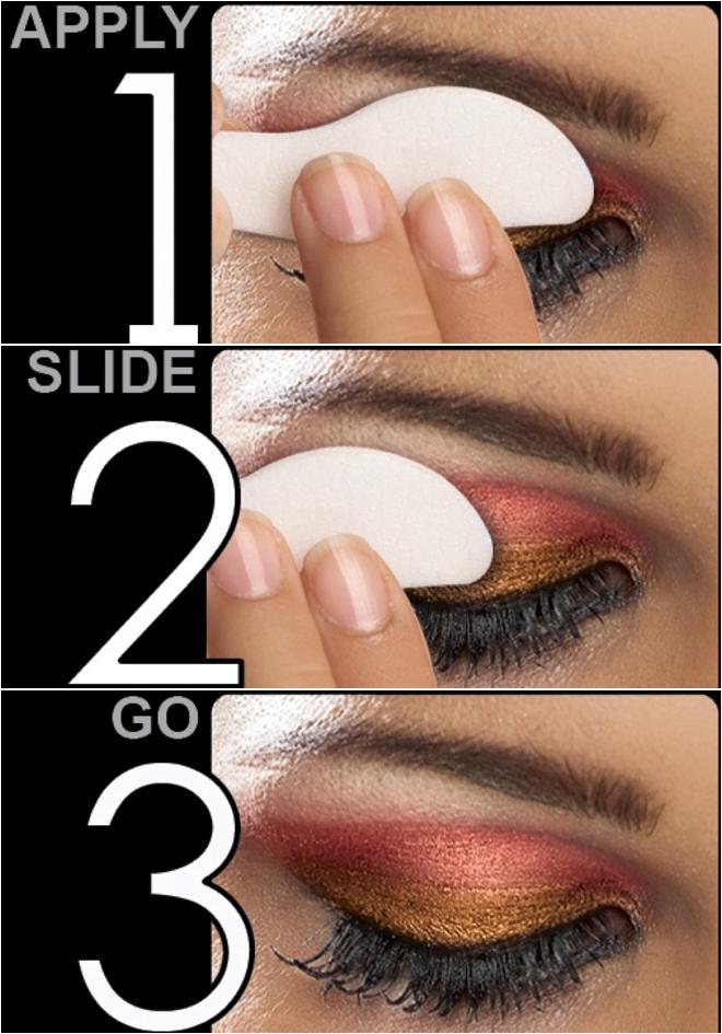 Bridal eyes makeup step by step