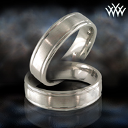 Men's Platinum Band Cortesy of Whiteflash.com