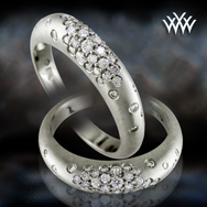 Women's Band with Diamonds Courtesy of Whiteflash.com