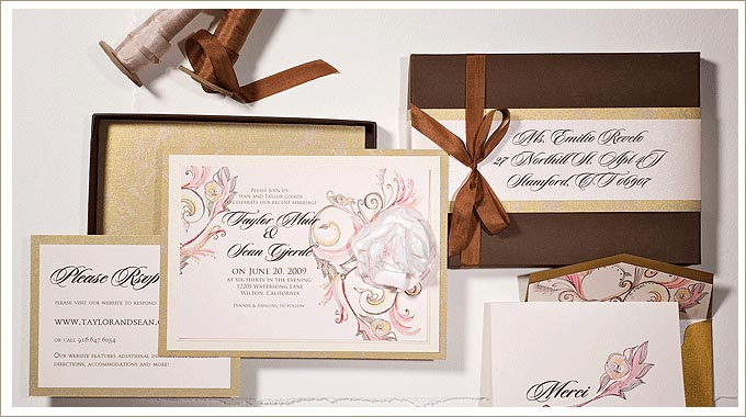 Momental Sculpted Invitation