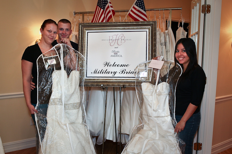 Military Brides at Brickhouse Bridal