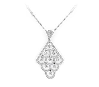 Adkins Necklace at Adornbridal.com