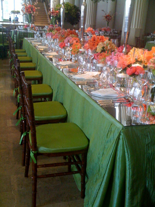 Classic Chiavari Chairs with Cushion