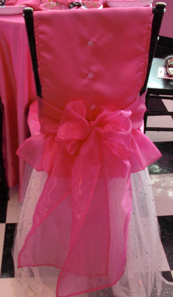 Ballerina Chair Cover