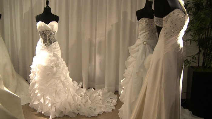 New wedding gown collection from waterford wedgwood s for Wedding dresses near me now