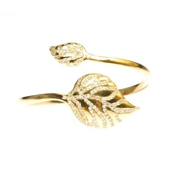 Melinda Maria Leaf Bracelet