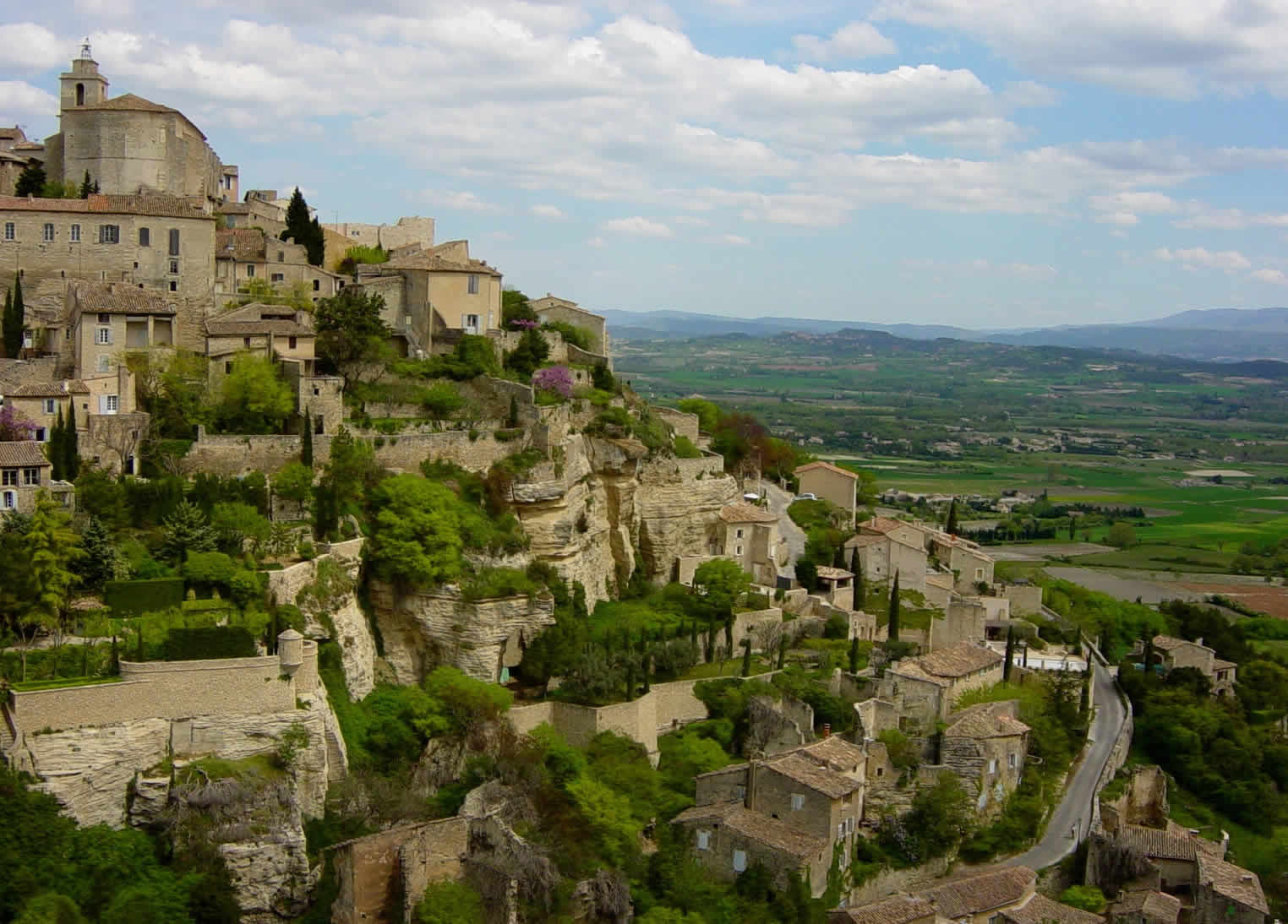 The Town of Gordes
