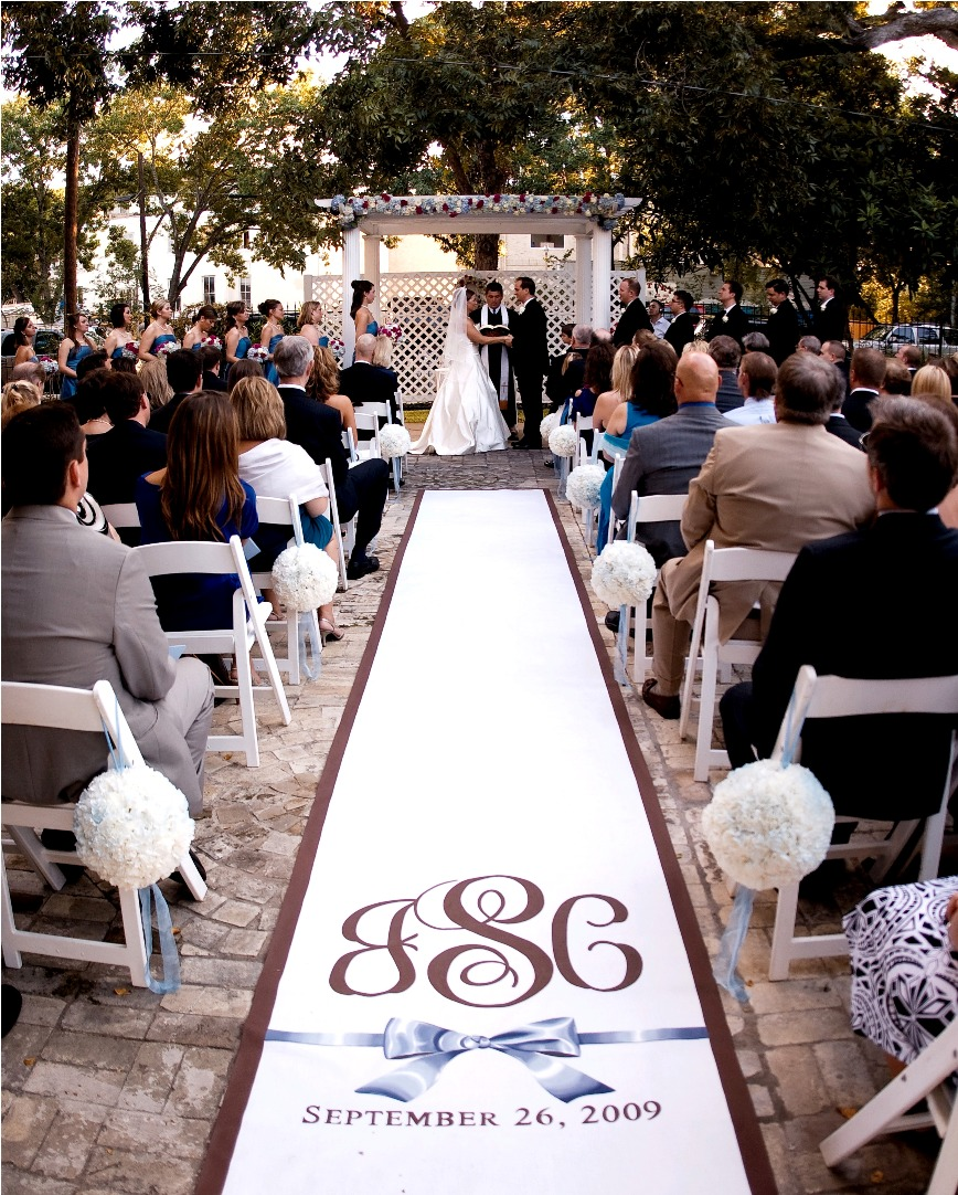 Aisle Runner For Wedding: Runner Rules: The When, Where And Wow Of Wedding Aisle