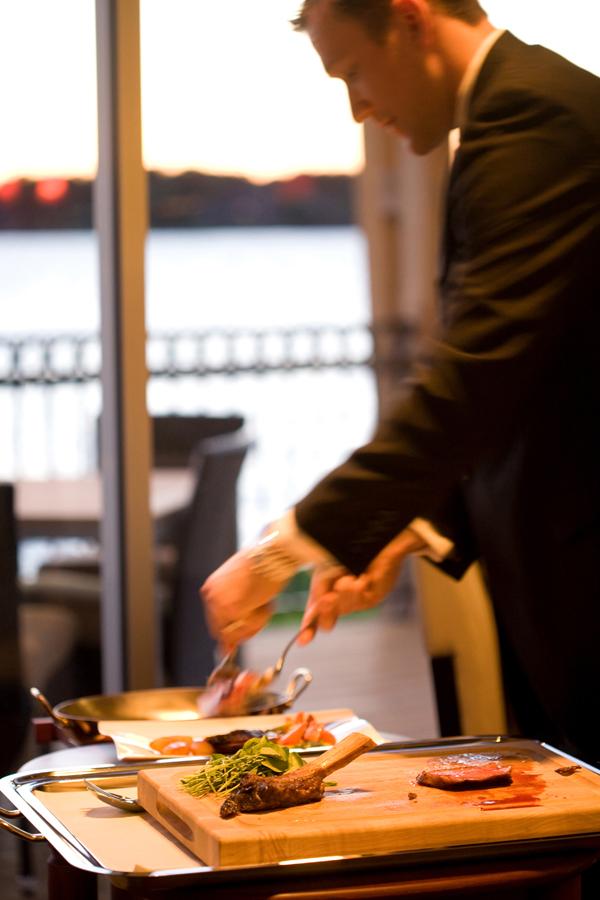 La Toretta Lake Resort & Spa ~ Chez-Roux Tableside Presentation