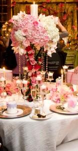 Lavishly Luxe Tablescape