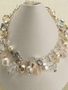 MEG Chunky Bridal Necklace