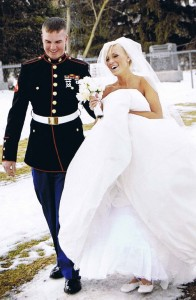Brickhouse Bridal Military Gown Giveaway