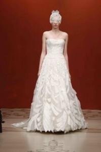Reem Acra Fall 2011 Bridal