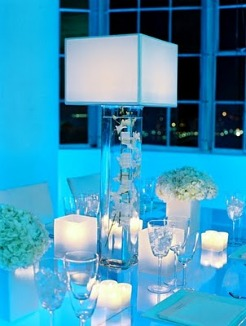 Lamp Centerpiece Wedding