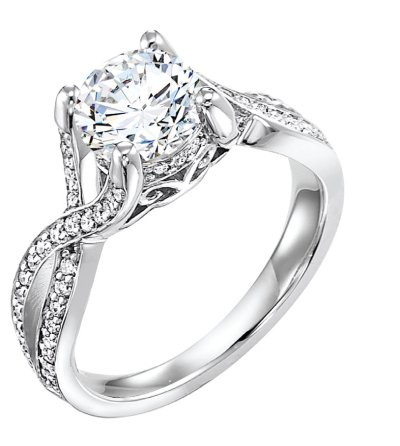 ArtCarved Diamond Ring