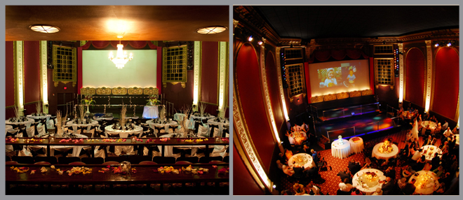 Movie Theater Wedding Venues