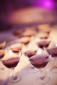 Purple Signature Wedding Drink