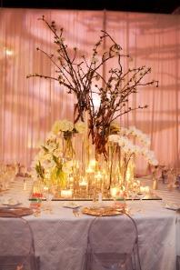Willow Branches Wedding Centerpiece
