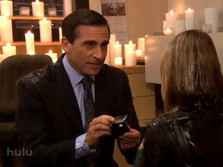 Michael Proposes to Holly