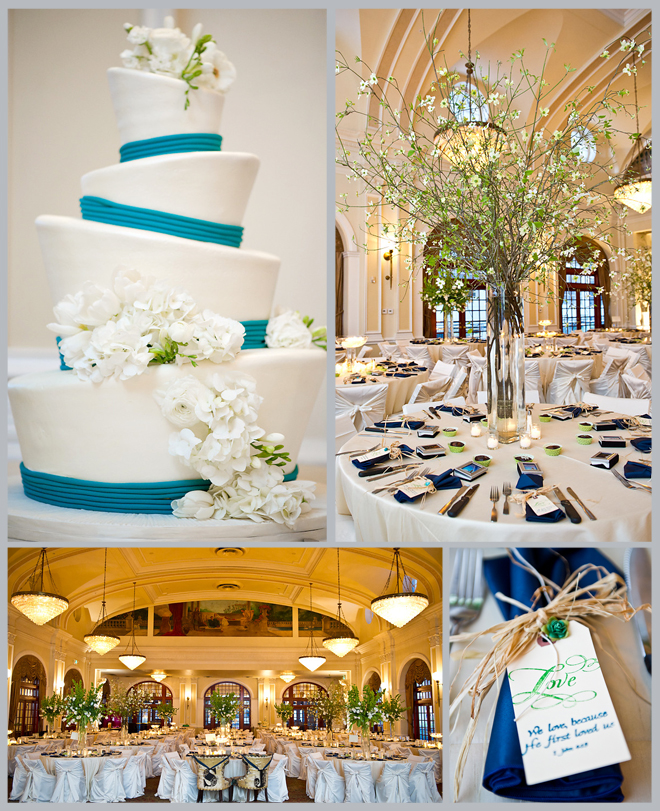 Chic & Cool Crystal Ballroom Wedding by Adam Nyholt