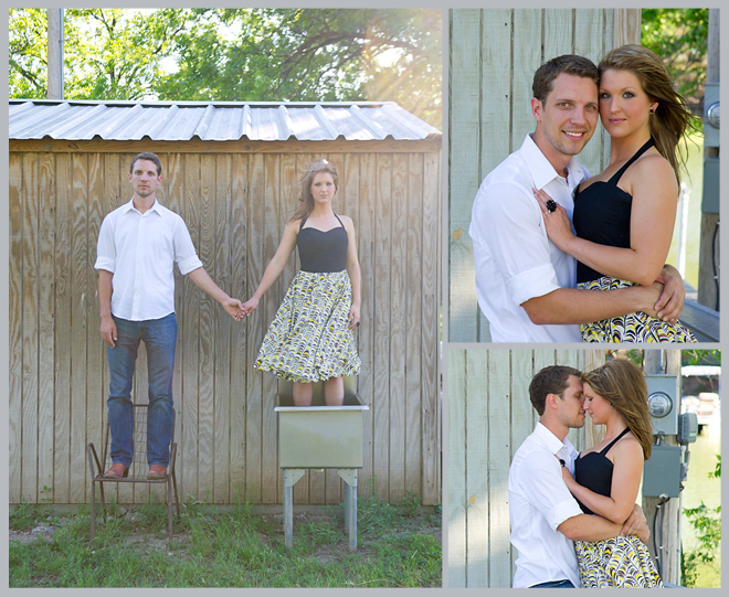 Sunny, Springtime Engagement Shoot by Adam Nyholt