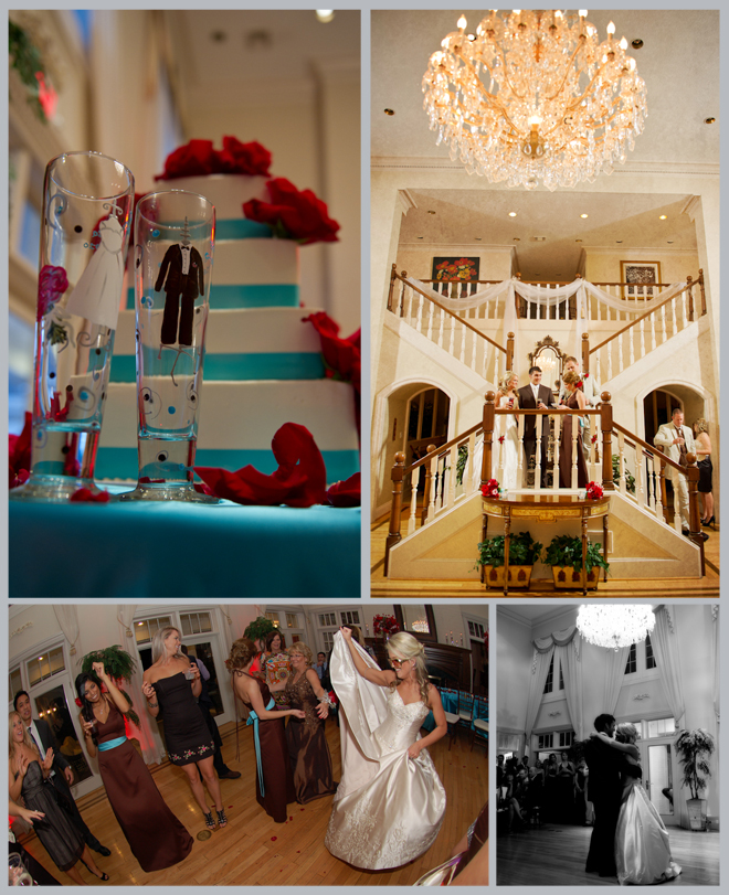 Sweet Red, White & Blue Wedding by DC Stanley Photography