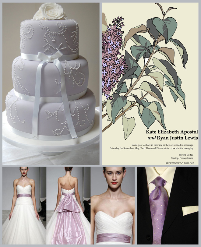 Inspiration Board: In Love With Lilac