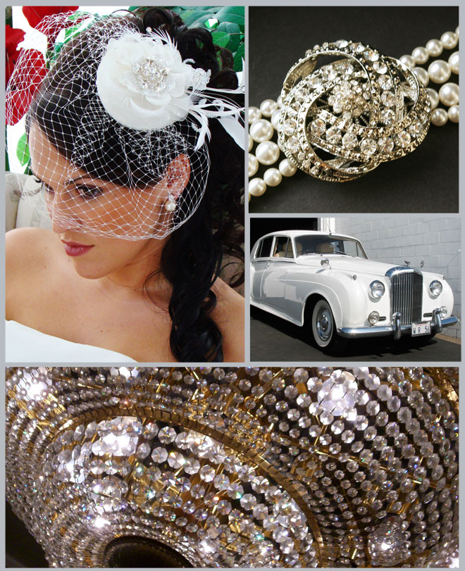 Old Hollywood Glamour Wedding Inspiration Board ~ Houston Wedding Blog