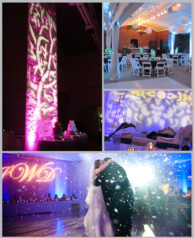 Houston Wedding Lighting