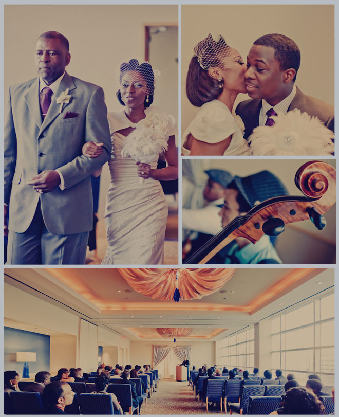 1940s Vintage Wedding by Civic Photos