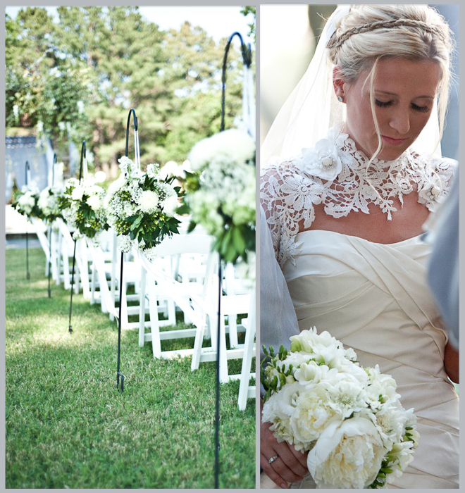 Lush & Dreamy, White & Green Garden Wedding by Steve Lee Weddings