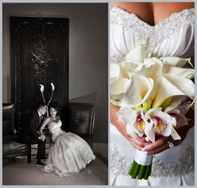 Dramatic Downtown Wedding by Nhan Nguyen Photography
