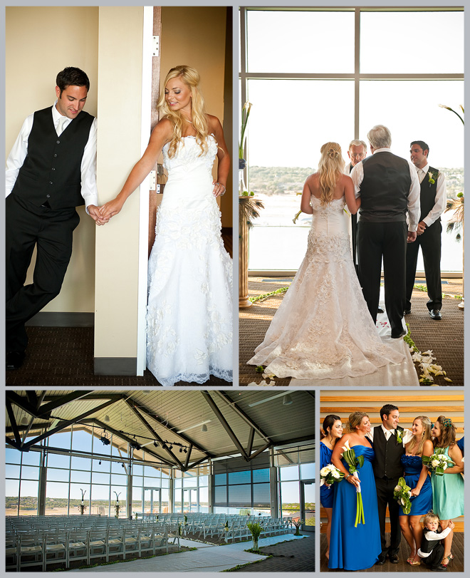 Juli & Kyle's Spectacular Sunset Lakeway Resort Wedding