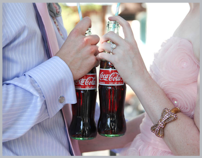 Vintage Tea Party Engagement Shoot by Rachel Robinson