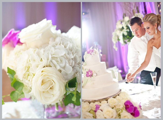 Orchid-Filled Hilton Americas Wedding By Kelly Hornberger Photography