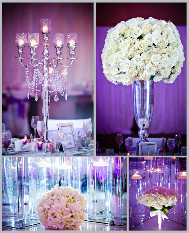 White and Purple Woodlands Winter Wedding ~ Houston Wedding Blog