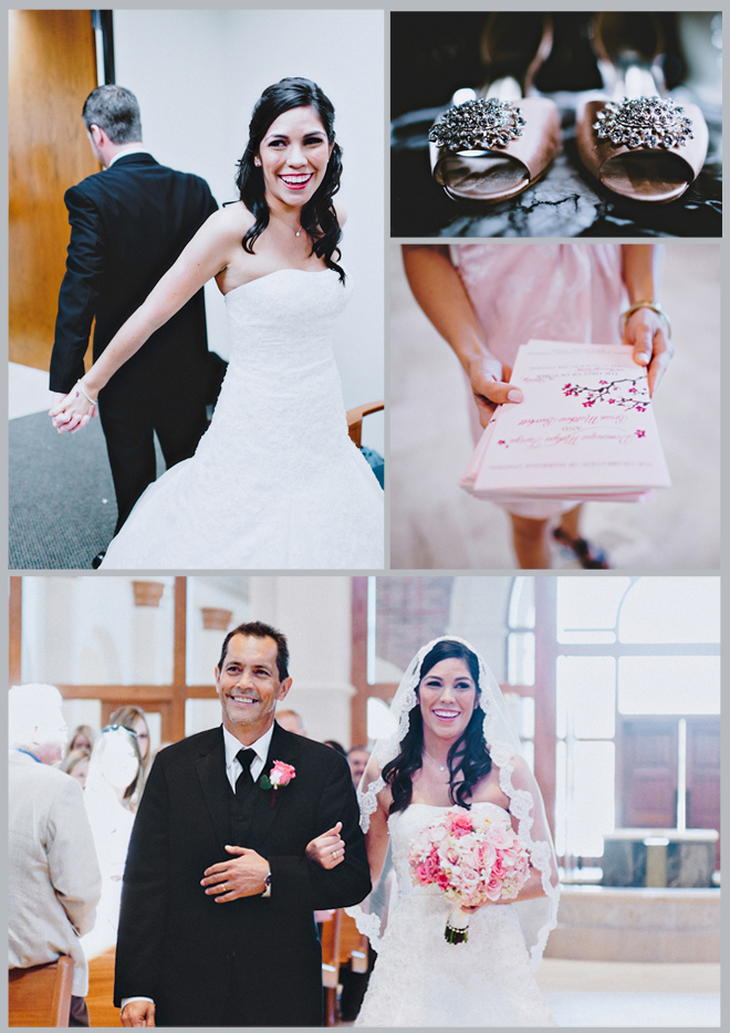 Simply Sweet Pink and Cream Wedding by Joseph West Photography ~ Houston Wedding Blog