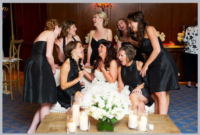 Outdoors-In Houstonian Hotel Wedding by Adam Nyholt