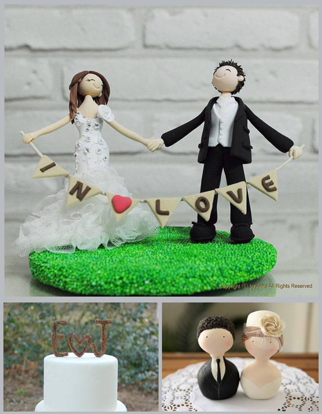 Cake Toppers Inspiration Board ~ Houston Wedding Blog