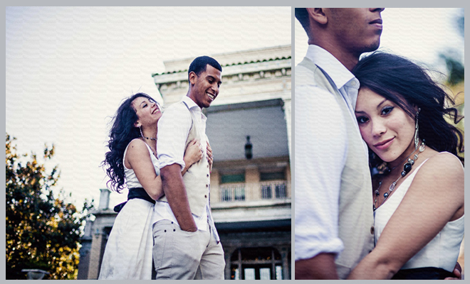Stylish Montrose Engagement Shoot by Civic Photos ~ Houston Wedding Blog