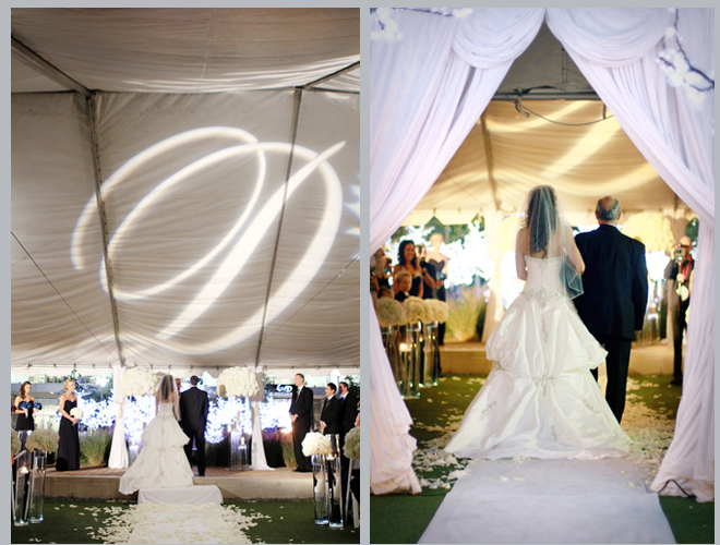 City Chic Tent Wedding by Miabella Photography ~ Houston Wedding Blog