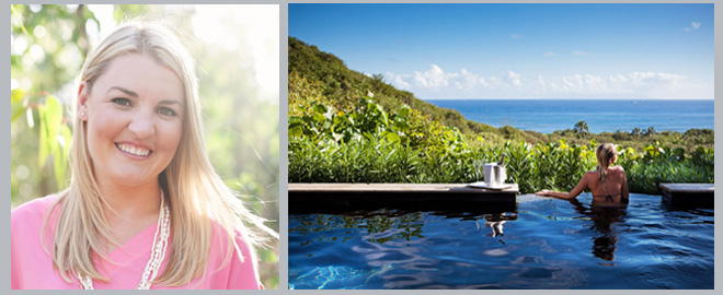 Q&A: Katie Frederick of Ever After Honeymoons on The Big Trip! ~ Courtesy Katie Frederick via Connie Chung ~ Courtesy Hotel Le Toiny St Barths ~ Weddings In Houston Magazine