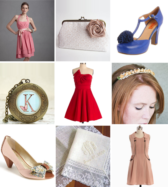Vintage Bridesmaids Inspiration ~ Houston Wedding Blog