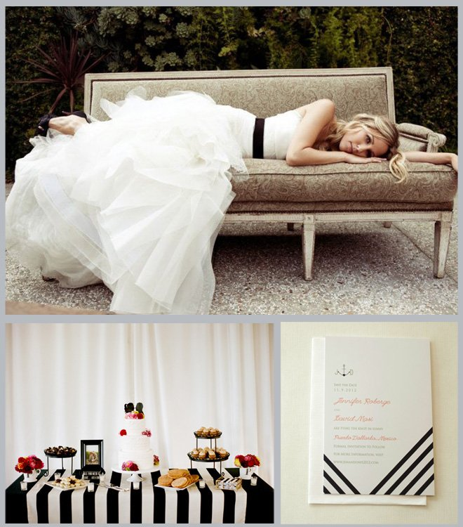 Stripes Wedding Inspiration Board ~ Houston Wedding Blog
