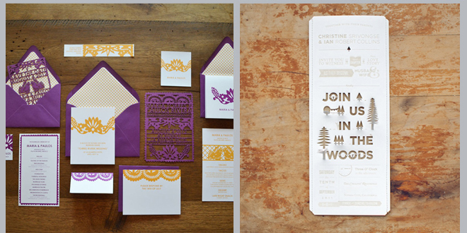Paper archives houston wedding blog for Laser cut wedding invitations houston