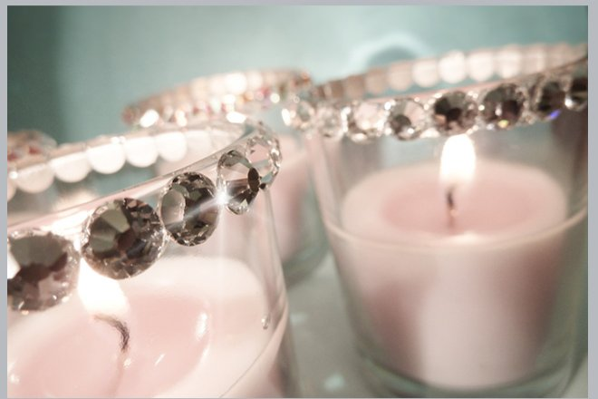 Swarovski Crystal Votive Holder