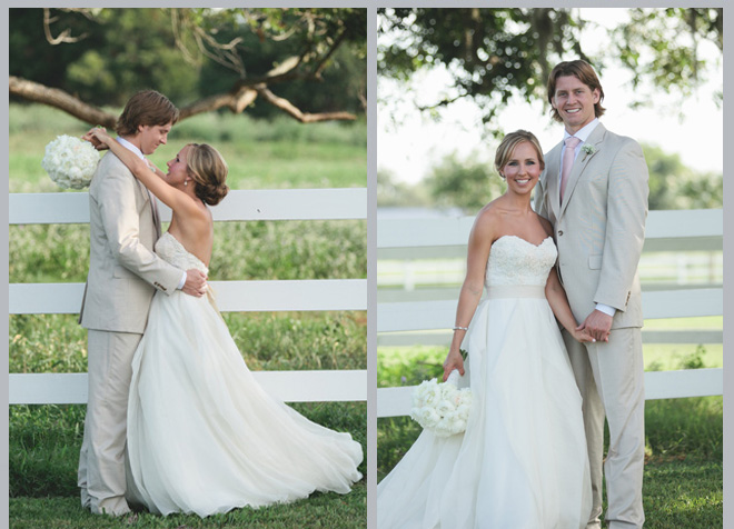 Texas-Chic Briscoe Manor Wedding by Katie Lamb Photography