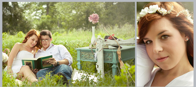 Romantic Robin Hood Engagement Shoot by Emily Kiel