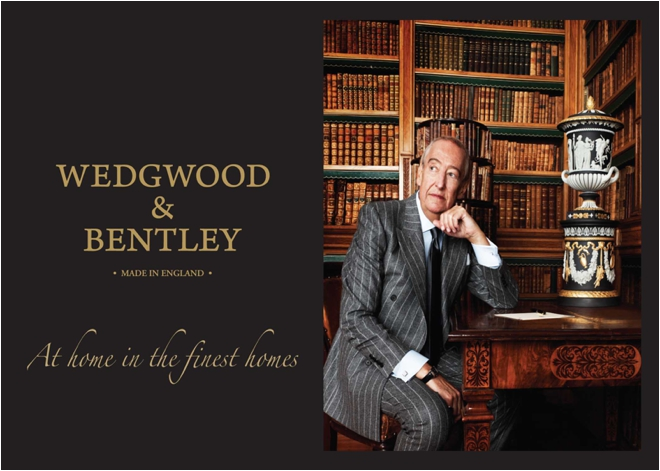 Wedgwood & Bentley Postcard