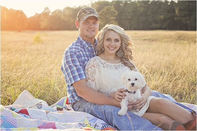 Rustic, Sentimental Family-Farm Engagement Shoot by Simply Love Photography